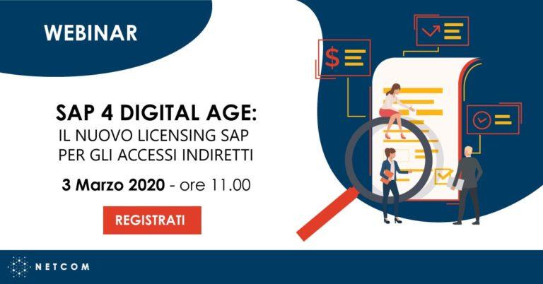 Webinar SAP 4 Digital Age