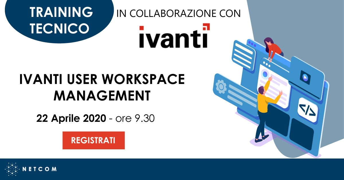Training User Workspace Ivanti