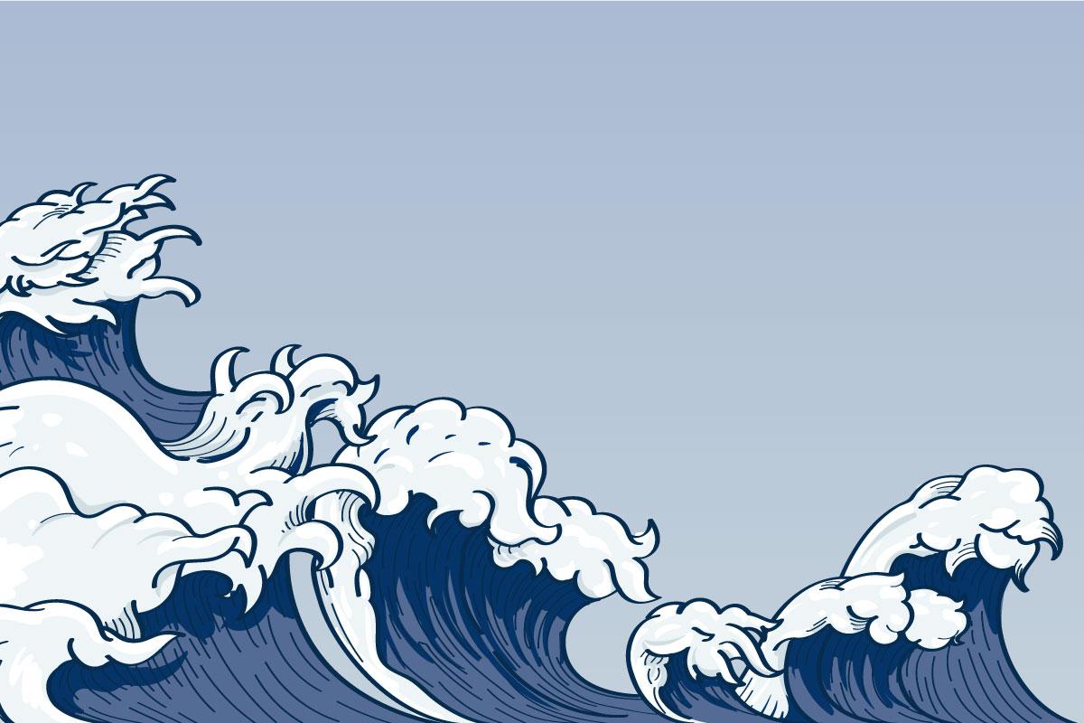 le onde della crisi