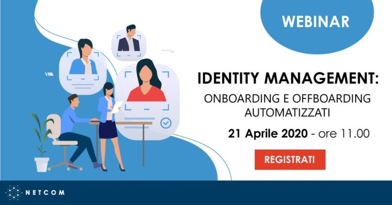 Webinar Identity Management